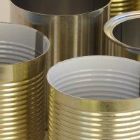 Why are there ridges on tin cans?
