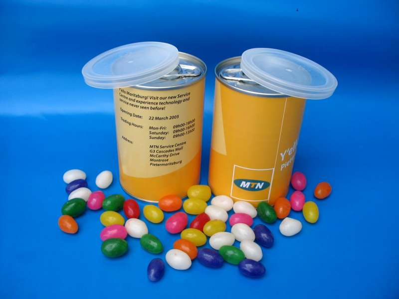 Jelly Bean Tins - Supplier South Africa