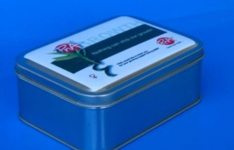 PNA Branded Tin Container from Can It