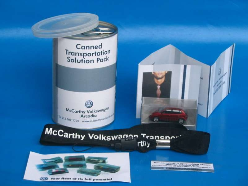 McCarthy Volkswagen Canned Transportation Solution Pack