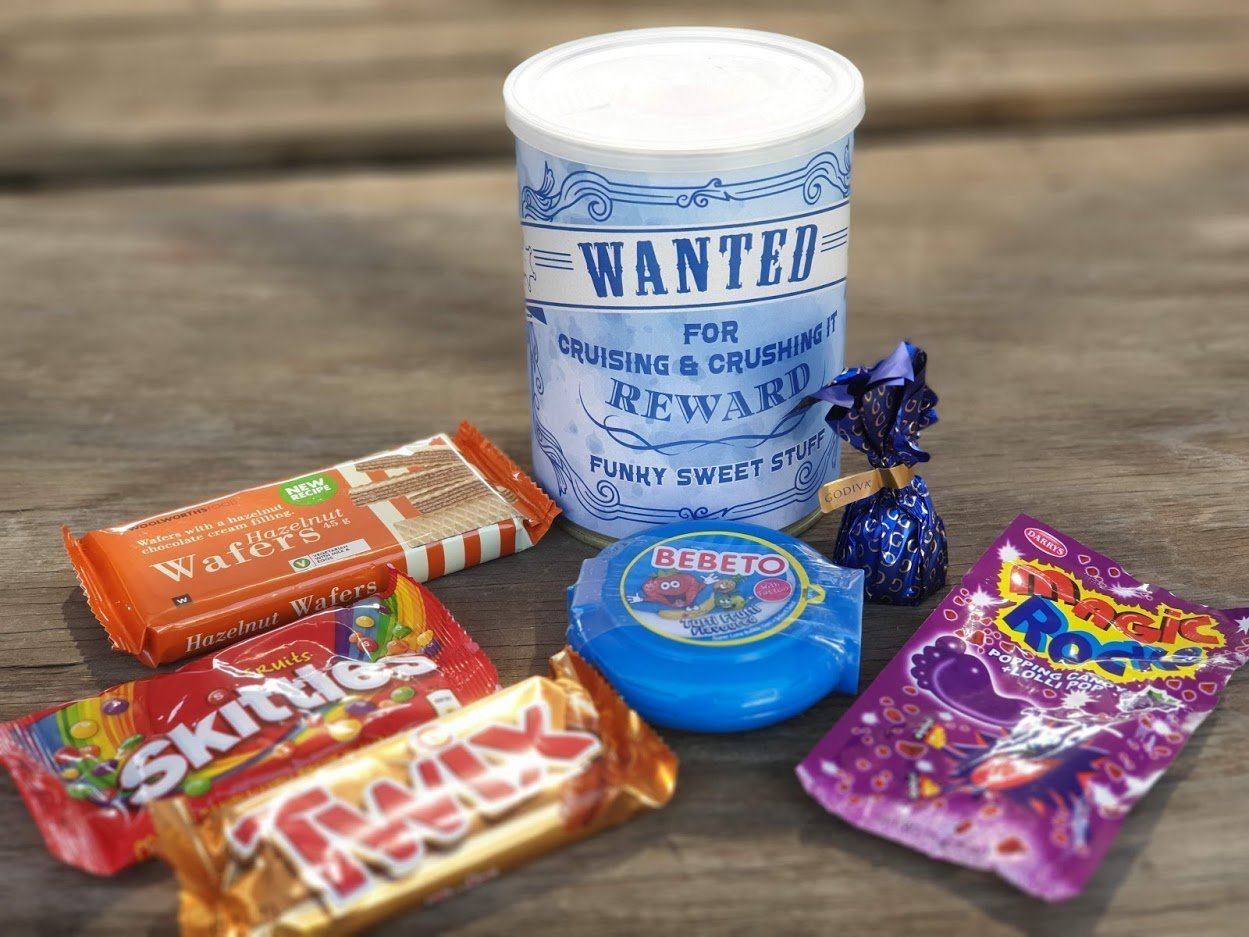 Happy Birthday Buddy Mini Heart Tin Gift Present For Buddy WIth Chocolates