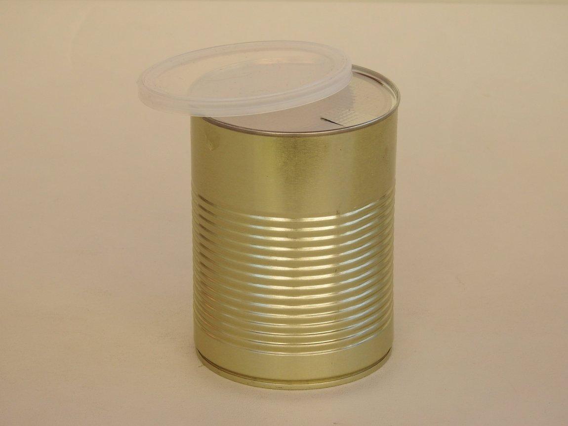 Large Custom Tin Cans