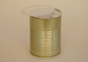 Large Custom Tin Can