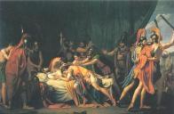 Muerte de Viriato de José Madrazo 1814