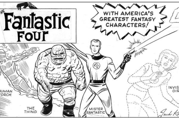 CIBASS Los Cuatro Fantásticos de Jack Kirby