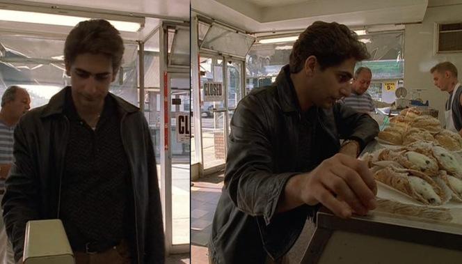 CIBASS_Christopher Moltisanti comprando Cannoli