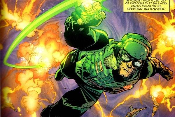 CIBASS El Linterna Verde Original Hal Jordan en Superman Redson