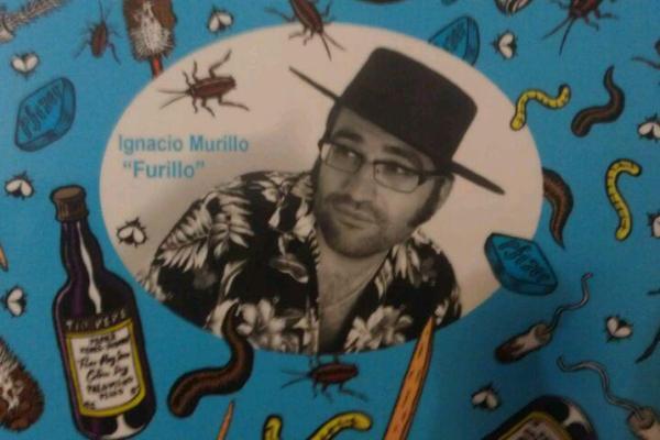 CIBASS Furillo contraportada del album El Maestro