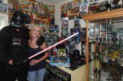 CIBASS Matrimonio coleccionista de Star Wars