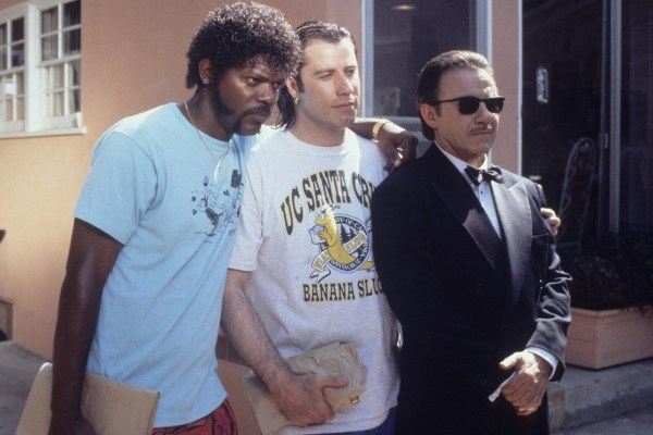 CIBASS Pulp Fiction Vincent Jules y el Señor Lobo