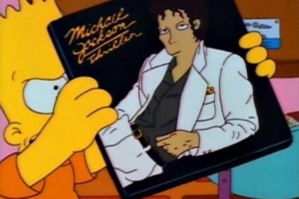 CIBASS Los Simpsons y Michael Jackson