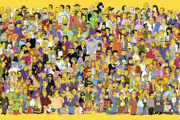 CIBASS Todos los personajes de The Simpsons