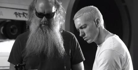 CIBASS Rick Rubin trabajando con Eminem