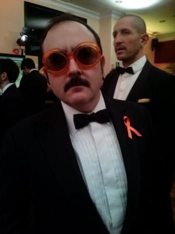 CIBASS Carlos Areces antes de salir de la gala