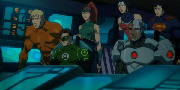 CIBASS La liga de la justicia Trono de Atlantis