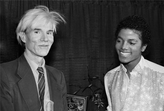 Michael Jackson y Andy Warhol