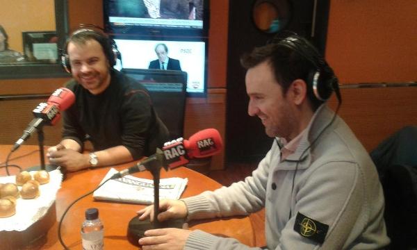 CIBASS Toni García Ramón presentado su libro en el programa Via Lliure de RAC1