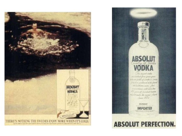 CIBASS Absolut Vodka Absolut Perfection