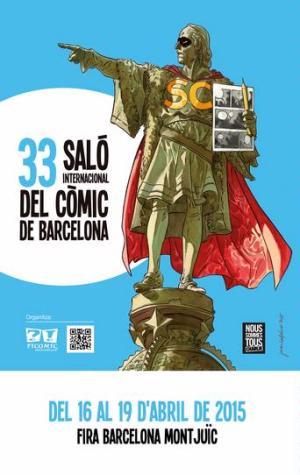 CIBASS Cartel anunciador del 33 salon internacional del comic de Barcelona