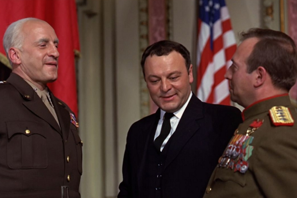 CIBASS George C Scott Patton General Zhukov