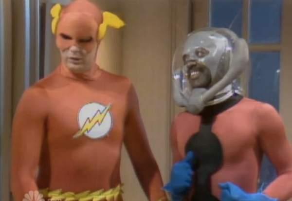 Flash y el Hombre Hormiga: Un DC vs. Marvel bastante bizarro