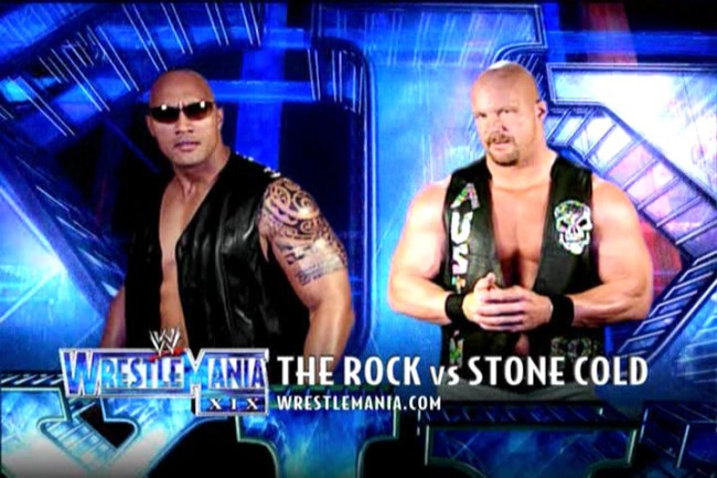 CIBASS Stone Cold Steve Austin vs. The Rock