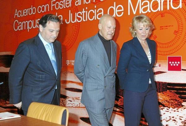 CIBASS Norman Foster y Esperanza Aguirre