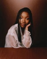 Singer and Actress Brandy