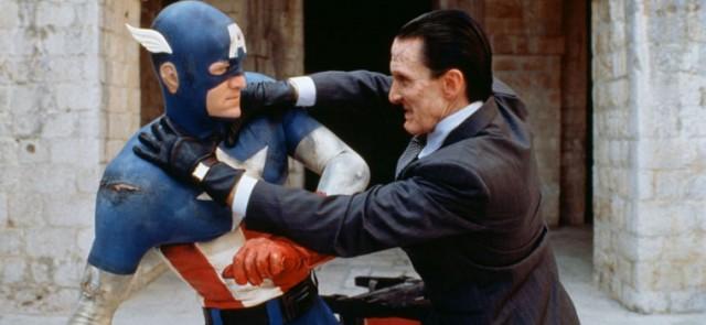 captain america and red skull in albert pyun's captain america (1990) albert pyun interview