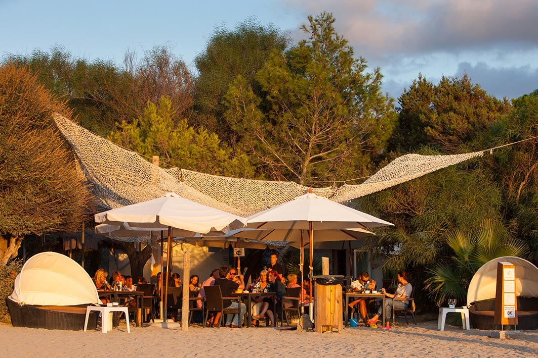 Bar Can Jaume - Sunset Location in der Cala Vadella