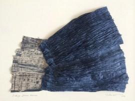 Indigo Shiwa Shiwa, by Margaret Yuko Kimura
