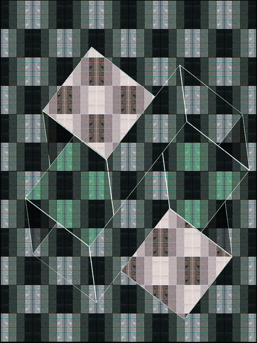 Michelle Murphy, Structural Degradation, Chromogenic print on metallic paper, 2015