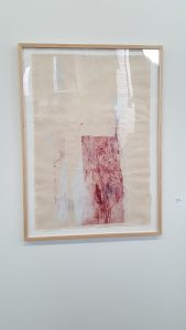 Print by Masha Ryskin, in Imagined Garment, Imagined Ground, at the Morgan Conservatory