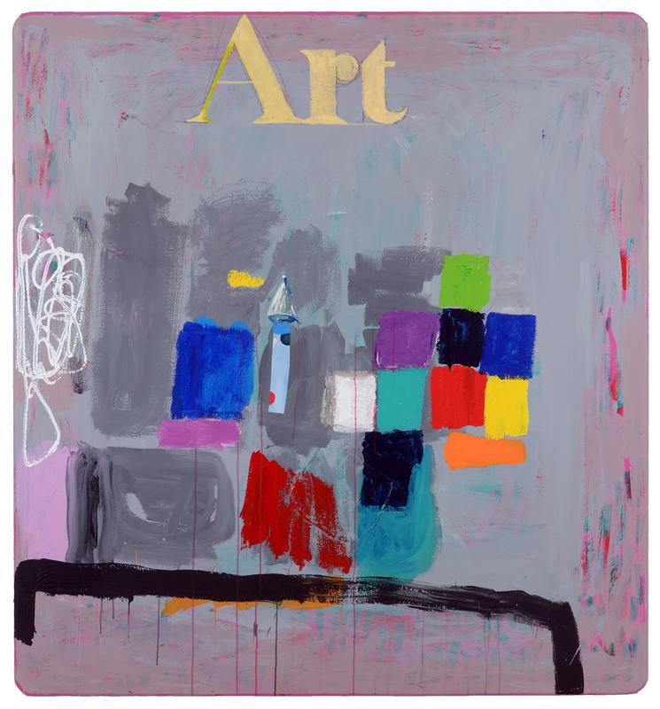Harris-Stanton-Pat Zinsmeister Parker Art 69'' X 64'' MIXED MEDIA 2016