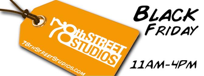 Black Friday Shopping, 78th Street Studios