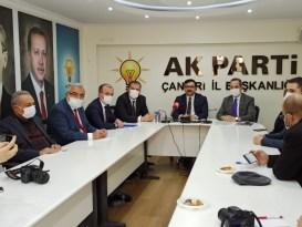 AK Parti İl Başkanı Çelik 2020 yılını değerlendirdi