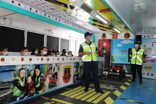 Çankırı'da trafik güvenliği eğitimi verildi