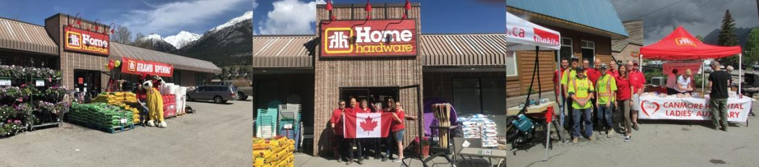 Canmore Home Hardware is a proud community sponsor.