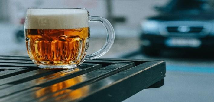 une chope de biere bien fraiche