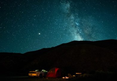 Blunts im Death Valley: buffen unterm Sternenhimmel