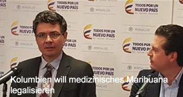 Kolumbien will medizinisches Marihuana legalisieren