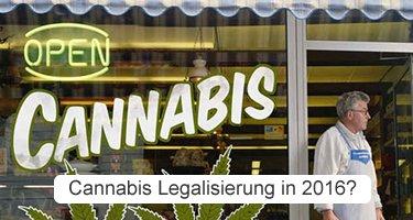 Kommt 2016 die Legalisierung von Cannabis in Deutschland?
