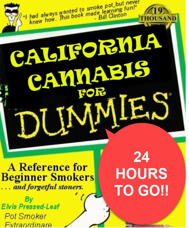 CALIFORNIA CANNABIS FOR DUMMIES