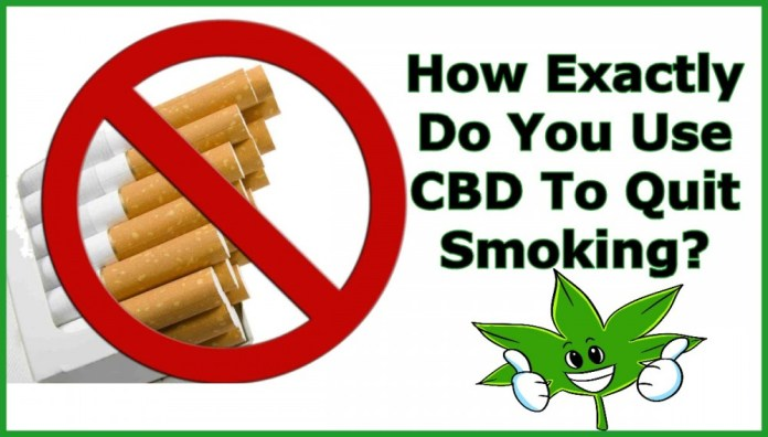 HOW DOSE CBD TO QUIT SMOKING