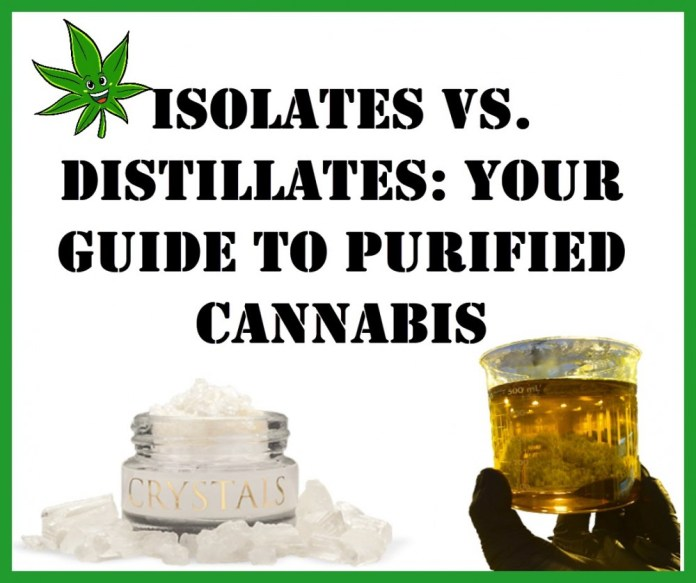 ISOLATES AND DISTILLATES WHAT IS THE DIFFERENCE