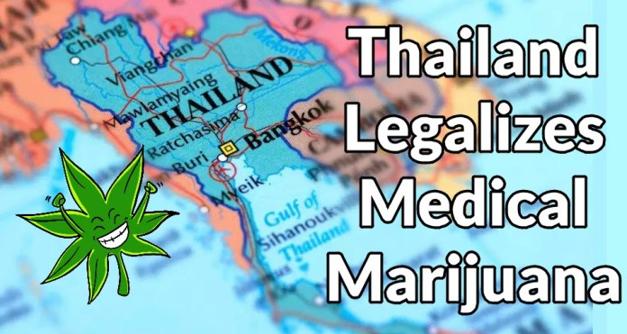 THAILAND LEGALIZES MEDICAL MARIJUANA