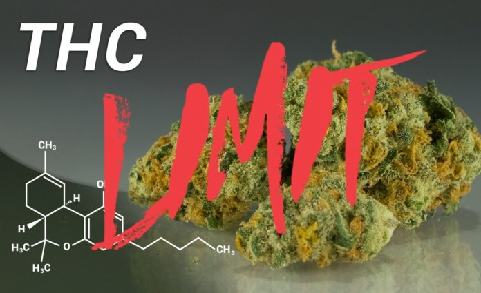 LIMITING THC LEVELS IN COLORADO
