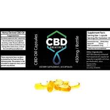 CBD Oil Capsules 15mg cannabidiol