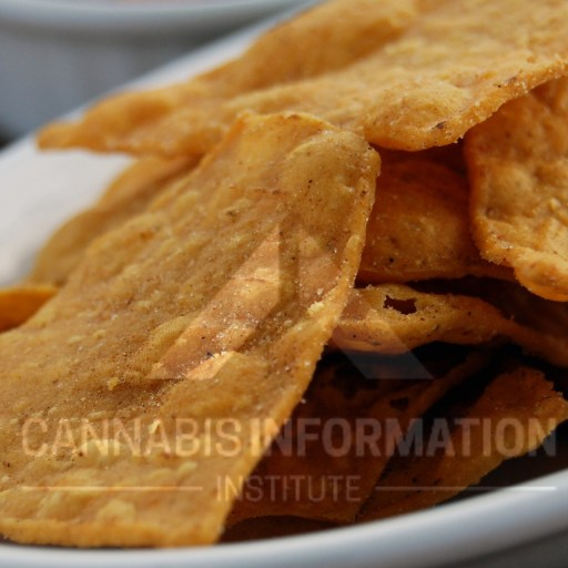 How to Make Cannabis Corn Chips - Infused Corn Chips, Weed Corn Chips, Can you make infused chips, how to make cannabis corn chips, how to make infused chips, infused corn chips and dip, infused chips and dip recipe, recipe for weed corn chips, marijuana infused corn chips, cannabis cheese dip, infused cheese dip for chips,