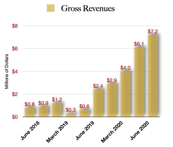 Inner Spirit Holdings Revenue